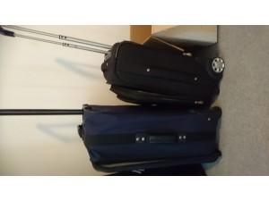 Trolley / Koffer (Stoff) - sehr gut erhalten