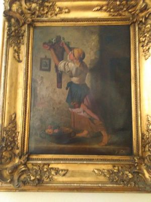 Schöne Gemälde aus dem 19. Jahrhundert