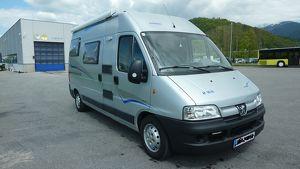Peugeot Boxer 2,8 HDI mit PÖSSL 2 WIN Wohnmobil Ausbau
